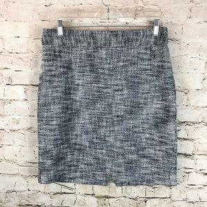 Women's Banana Republic Skirt Size 6 Petite Black